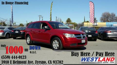 2009 Dodge Journey for sale at Westland Auto Sales in Fresno CA