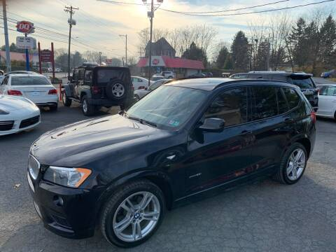 2014 BMW X3 for sale at Masic Motors, Inc. in Harrisburg PA