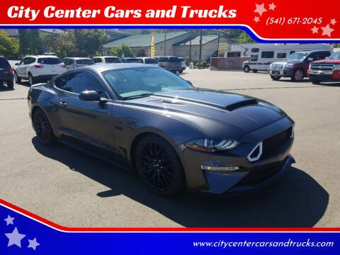 2018 Ford Mustang for sale at City Center Cars and Trucks in Roseburg OR