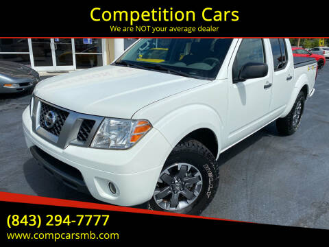 2016 Nissan Frontier for sale at Competition Cars in Myrtle Beach SC