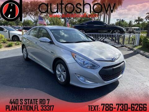 2015 Hyundai Sonata Hybrid for sale at AUTOSHOW SALES & SERVICE in Plantation FL