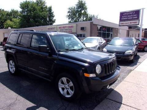 2011 Jeep Patriot for sale at Gregory J Auto Sales in Roseville MI