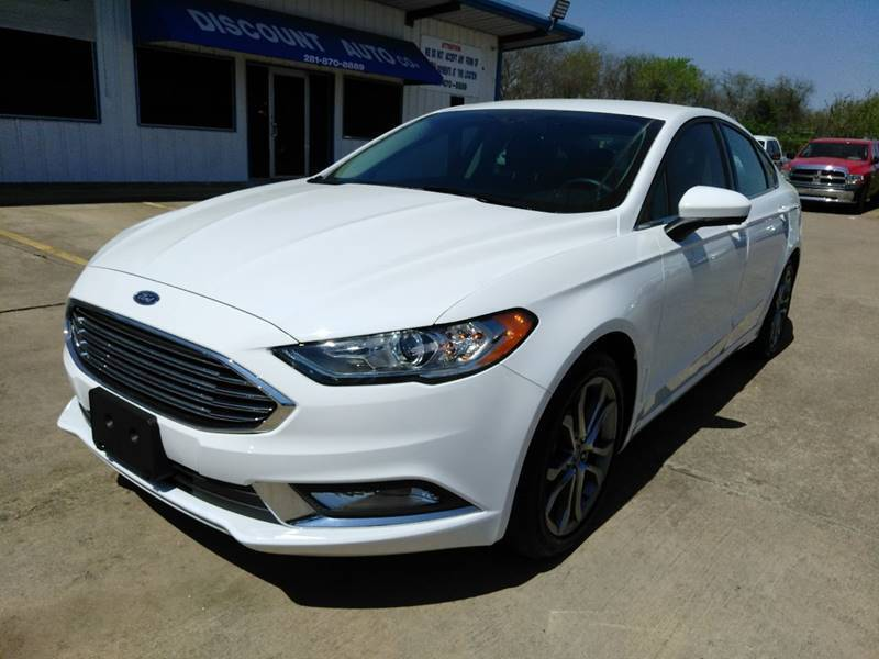 2017 Ford Fusion for sale at Discount Auto Company in Houston TX