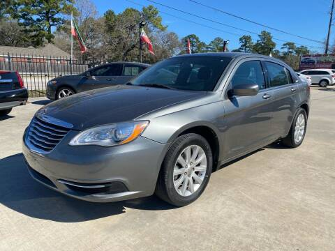 2013 Chrysler 200 for sale at Auto Land Of Texas in Cypress TX
