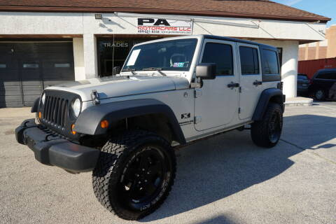 2007 Jeep Wrangler Unlimited for sale at PA Motorcars in Conshohocken PA