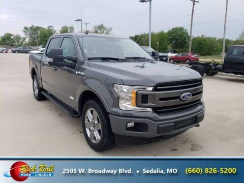 2018 Ford F-150 for sale at RICK BALL FORD in Sedalia MO