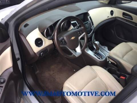 2016 Chevrolet Cruze Limited for sale at J & M Automotive in Naugatuck CT