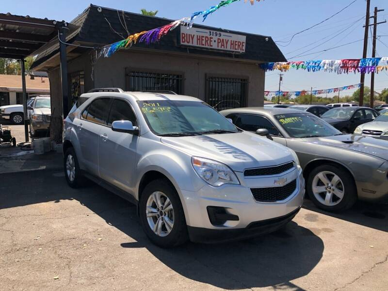 2011 Chevrolet Equinox for sale at Valley Auto Center in Phoenix AZ