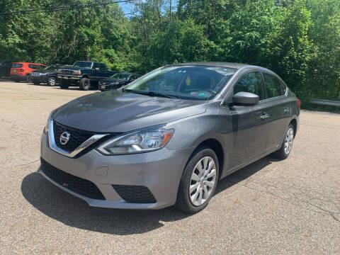 2017 Nissan Sentra for sale at George Strus Motors Inc. in Newfoundland NJ