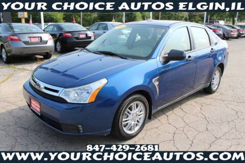 2008 Ford Focus for sale at Your Choice Autos - Elgin in Elgin IL