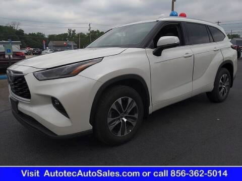 2021 Toyota Highlander for sale at Autotec Auto Sales in Vineland NJ