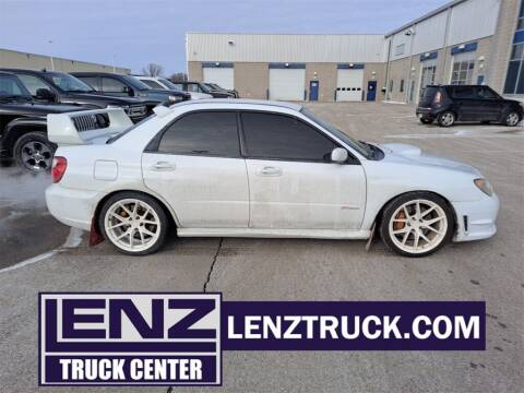 2006 Subaru Impreza for sale at LENZ TRUCK CENTER in Fond Du Lac WI
