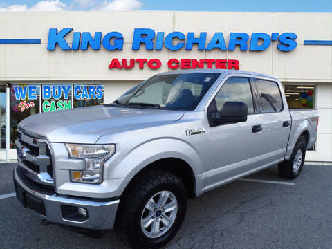 2016 Ford F-150 for sale at KING RICHARDS AUTO CENTER in East Providence RI