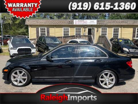 2012 Mercedes-Benz C-Class for sale at Raleigh Imports in Raleigh NC