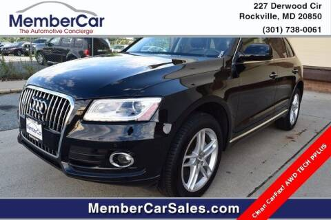 2017 Audi Q5 for sale at MemberCar in Rockville MD