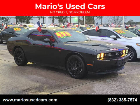2016 Dodge Challenger for sale at Mario's Used Cars in Houston TX