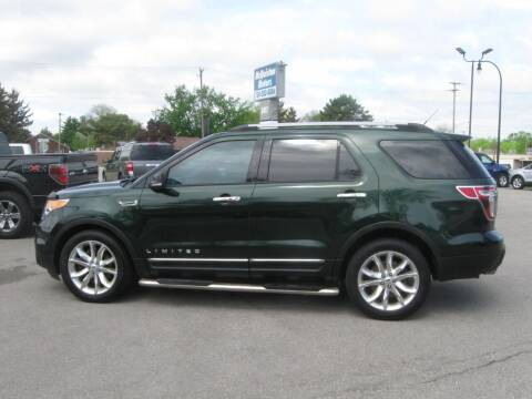 2013 Ford Explorer for sale at MCQUISTON MOTORS in Wyandotte MI
