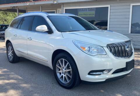 2015 Buick Enclave for sale at USA AUTO CENTER in Austin TX