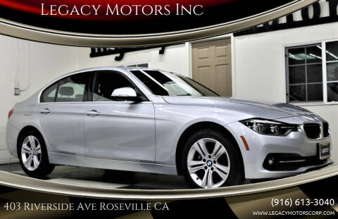 2018 BMW 3 Series for sale at Legacy Motors Inc in Roseville CA