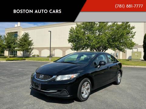 2013 Honda Civic for sale at Boston Auto Cars in Dedham MA