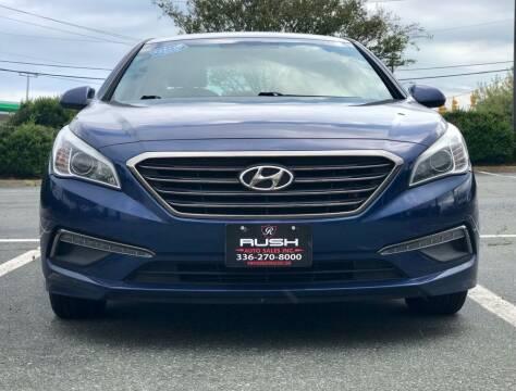 2015 Hyundai Sonata for sale at RUSH AUTO SALES in Burlington NC