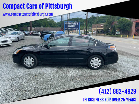 2011 Nissan Altima for sale at Compact Cars of Pittsburgh in Pittsburgh PA