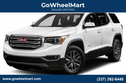 2017 GMC Acadia for sale at GoWheelMart in Leesville LA
