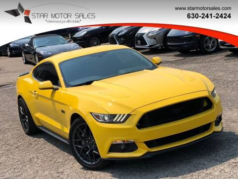 2017 Ford Mustang for sale at Star Motor Sales in Downers Grove IL