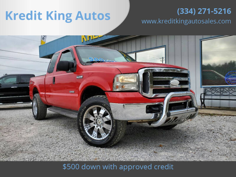 2005 Ford F-250 Super Duty for sale at Kredit King Autos in Montgomery AL