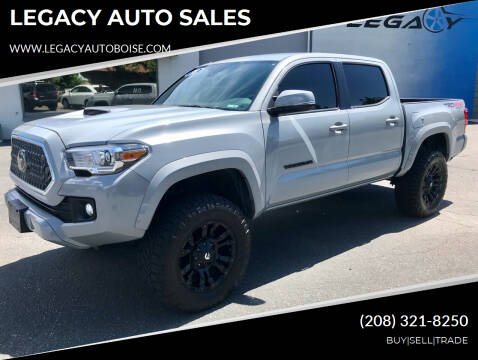 2018 Toyota Tacoma for sale at LEGACY AUTO SALES in Boise ID