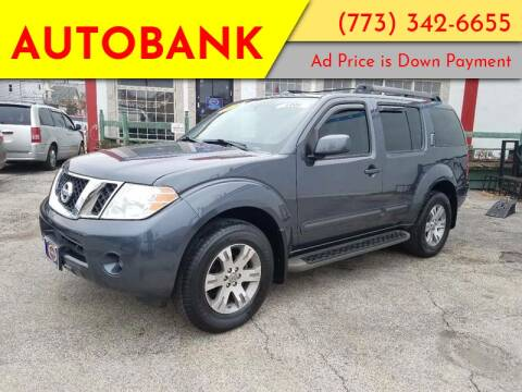 2010 Nissan Pathfinder for sale at AutoBank in Chicago IL