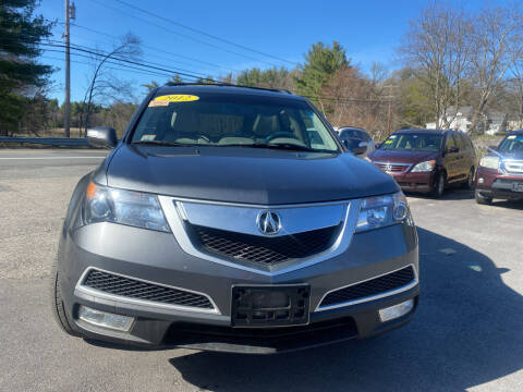 2012 Acura MDX for sale at Royal Crest Motors in Haverhill MA