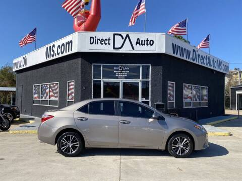 2016 Toyota Corolla for sale at Direct Auto in D'Iberville MS