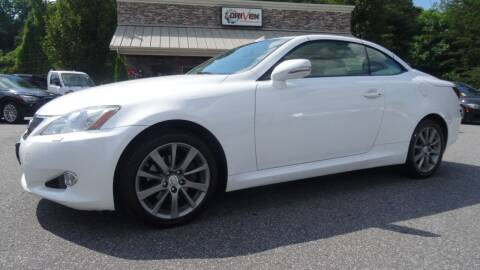 2010 Lexus IS 250C for sale at Driven Pre-Owned in Lenoir NC