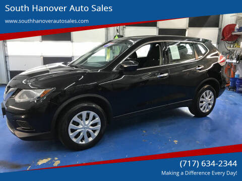 2015 Nissan Rogue for sale at South Hanover Auto Sales in Hanover PA