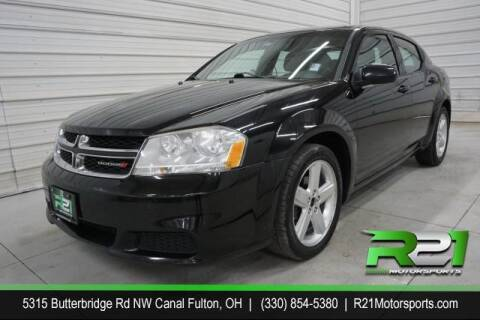 2012 Dodge Avenger for sale at Route 21 Auto Sales in Canal Fulton OH