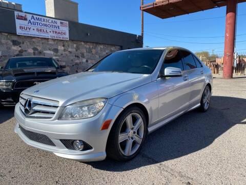 2010 Mercedes-Benz C-Class for sale at American Automotive , LLC in Tucson AZ