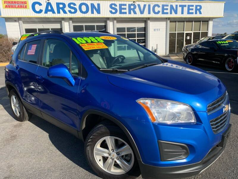 2015 Chevrolet Trax for sale at Carson Servicenter in Carson City NV