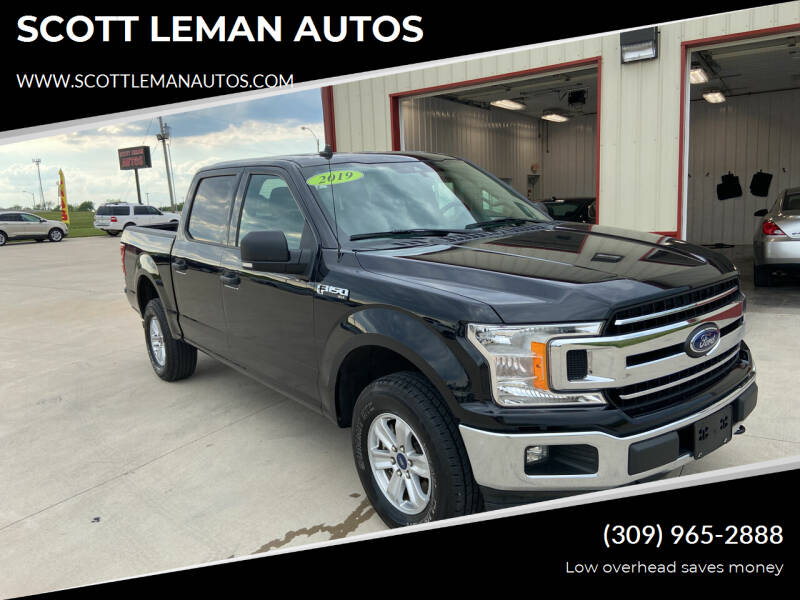 2019 Ford F-150 for sale at SCOTT LEMAN AUTOS in Goodfield IL