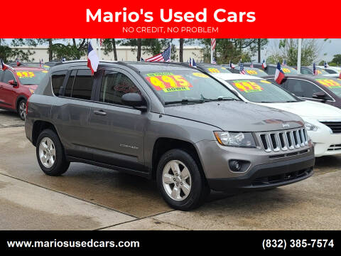 2014 Jeep Compass for sale at Mario's Used Cars in Houston TX