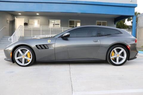 2019 Ferrari GTC4Lusso T for sale at PERFORMANCE AUTO WHOLESALERS in Miami FL