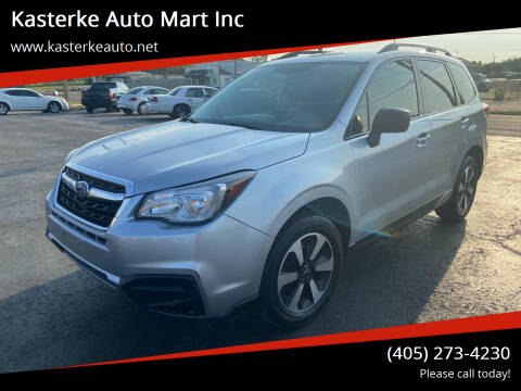2018 Subaru Forester for sale at Kasterke Auto Mart Inc in Shawnee OK