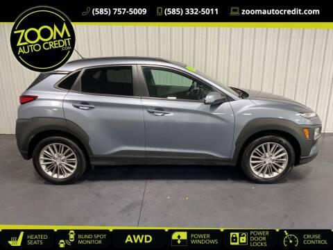 2018 Hyundai Kona for sale at ZoomAutoCredit.com in Elba NY