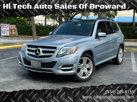 2013 Mercedes-Benz GLK for sale at Hi Tech Auto Sales Of Broward in Hollywood FL