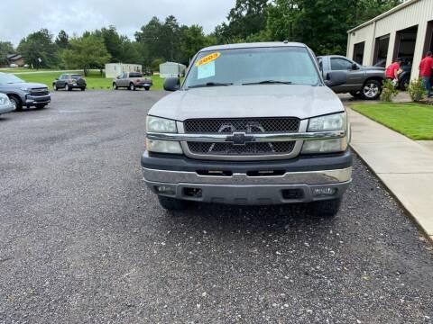 2003 Chevrolet Silverado 1500 for sale at B & B AUTO SALES INC in Odenville AL