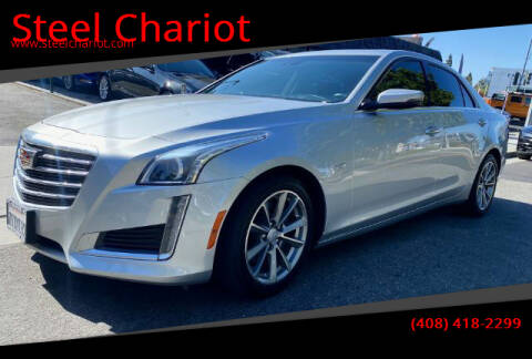 2017 Cadillac CTS for sale at Steel Chariot in San Jose CA