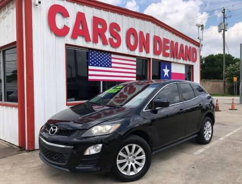 2011 Mazda CX-7 for sale at Cars On Demand 2 in Pasadena TX