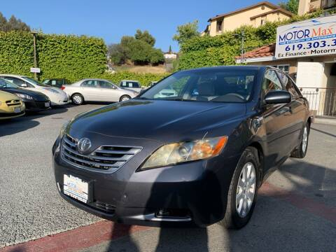 2007 Toyota Camry Hybrid for sale at MotorMax in Lemon Grove CA