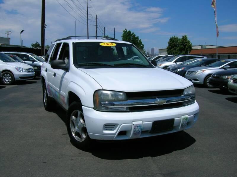 2008 Chevrolet TrailBlazer for sale at Avalanche Auto Sales in Denver CO