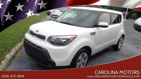 2015 Kia Soul for sale at CAROLINA MOTORS - Carolina Classics & More-Thomasville in Thomasville NC